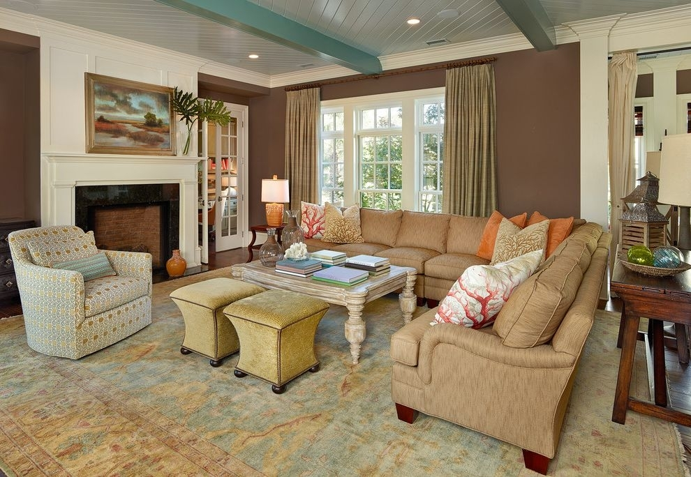 Jelly Bean Rugs With Beach Style Living Room And Lots Of Seating With Regard To Jelly Bean Coffee Tables (View 38 of 40)