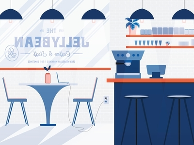 Jellybean Coffee Shopcher Cloude Topps – Dribbble Inside Jelly Bean Coffee Tables (View 33 of 40)
