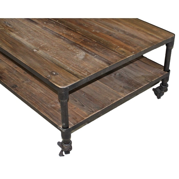 Jj 1692 Reclaimed Pine Coffee Tables With Reclaimed Pine & Iron Coffee Tables (Photo 37 of 40)