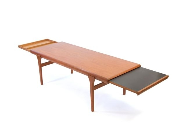 Johannes Andersen For Cfc Silkeborg Teak Coffee Table | Ebay Regarding Large Teak Coffee Tables (View 28 of 40)