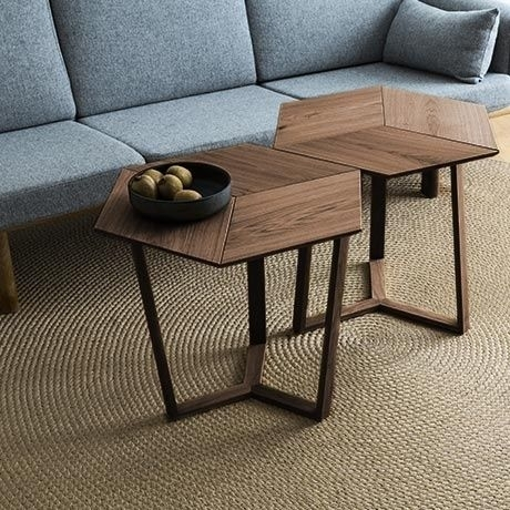 Kant Table – Light Smoked Oakcollect Furniture | Tische Intended For Smoked Oak Coffee Tables (Image 20 of 40)