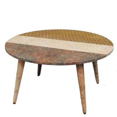 Keen Coffee Table, Batik | Bana Home Decors & Gifts Inside Batik Coffee Tables (View 11 of 40)