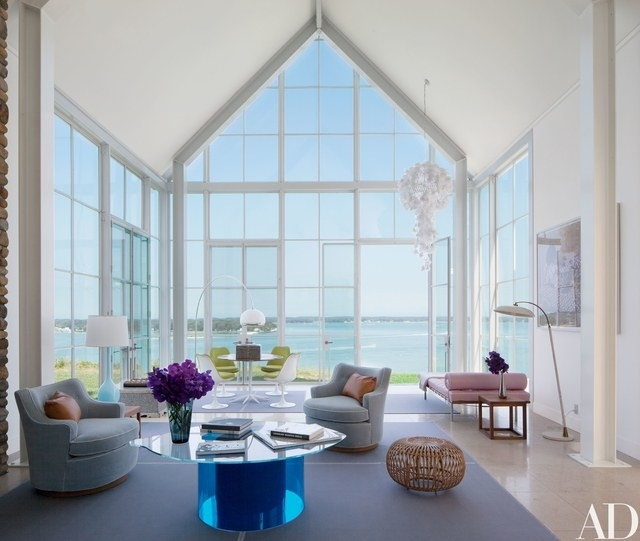 Knoll Ceo Andrew Cogan's Light Filled Shelter Island Beach House Regarding Shelter Cocktail Tables (Image 18 of 40)
