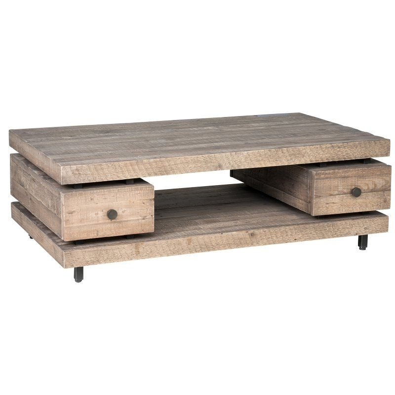 Kosas Home Palmer Reclaimed Pine Coffee Table – 51030234 | Products Inside Natural Pine Coffee Tables (Image 17 of 40)