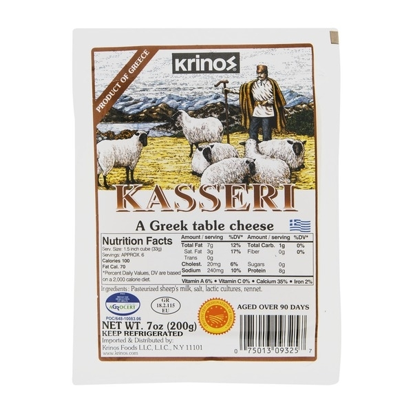 Krinos Kasseri A Greek Table Cheese ( (View 37 of 40)