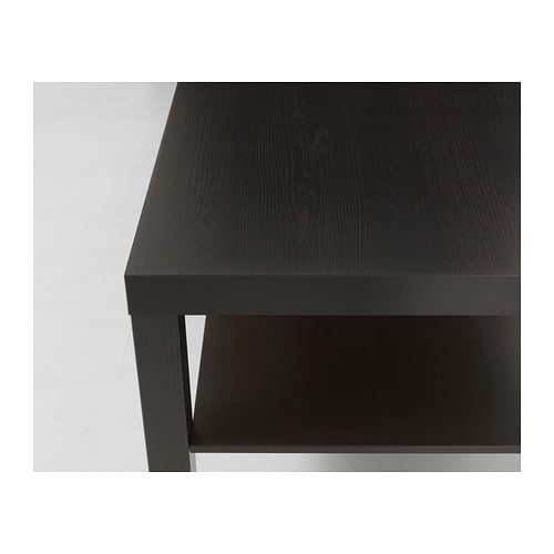 Lack Coffee Table – Black Brown – Ikea For Ontario Cocktail Tables With Casters (View 15 of 40)