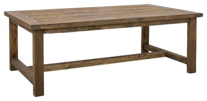 Landon Recycled Pine Coffee Table, Natural – Coffee Tables With Regard To Natural Pine Coffee Tables (Image 19 of 40)