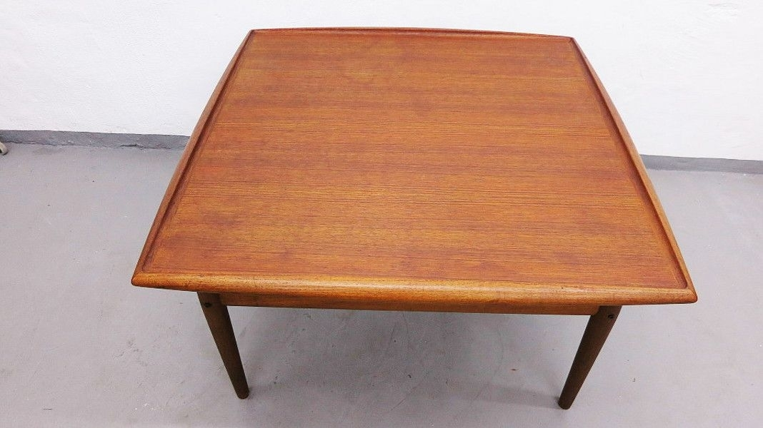 Large Danish Teak Coffee Tablegrete Jalk For Glostrup For Sale In Large Teak Coffee Tables (View 2 of 40)