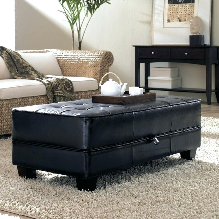 Large Round Tufted Ottoman Endearing Large Round Ottoman Coffee With Button Tufted Coffee Tables (Photo 19 of 40)