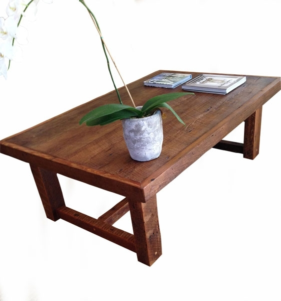 Large Rustic Pi Table | Modern Rustic Coffee Table | Doorman Designs Within Modern Rustic Coffee Tables (Image 16 of 40)