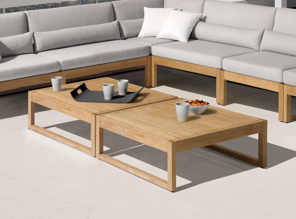 Large Teak Coffee Table Outdoor — New Home Design : The Elegance Of Throughout Large Teak Coffee Tables (View 15 of 40)