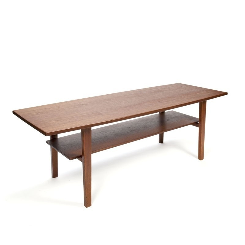 Large Vintage Danish Teak Coffee Table – Retro Studio Regarding Large Teak Coffee Tables (View 37 of 40)