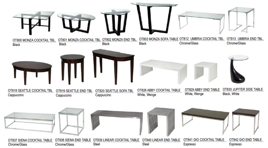 Las Vegas Rental Furniture (Trade Shows, Events, & Conferences) For Abby Cocktail Tables (View 29 of 40)