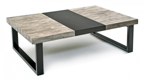 Latest Rustic Contemporary Coffee Table With Contemporary Rustic Pertaining To Modern Rustic Coffee Tables (Photo 1 of 40)