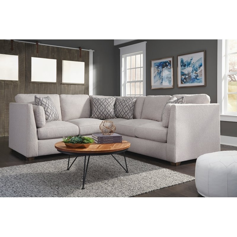 Latitude Run Anson Sectional | Wayfair Pertaining To Anson Cocktail Tables (View 24 of 40)