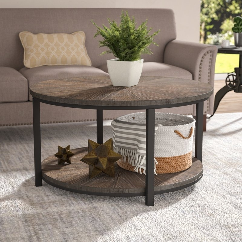 Laurel Foundry Modern Farmhouse Dalton Gardens Coffee Table In Foundry Cocktail Tables (Photo 15 of 40)