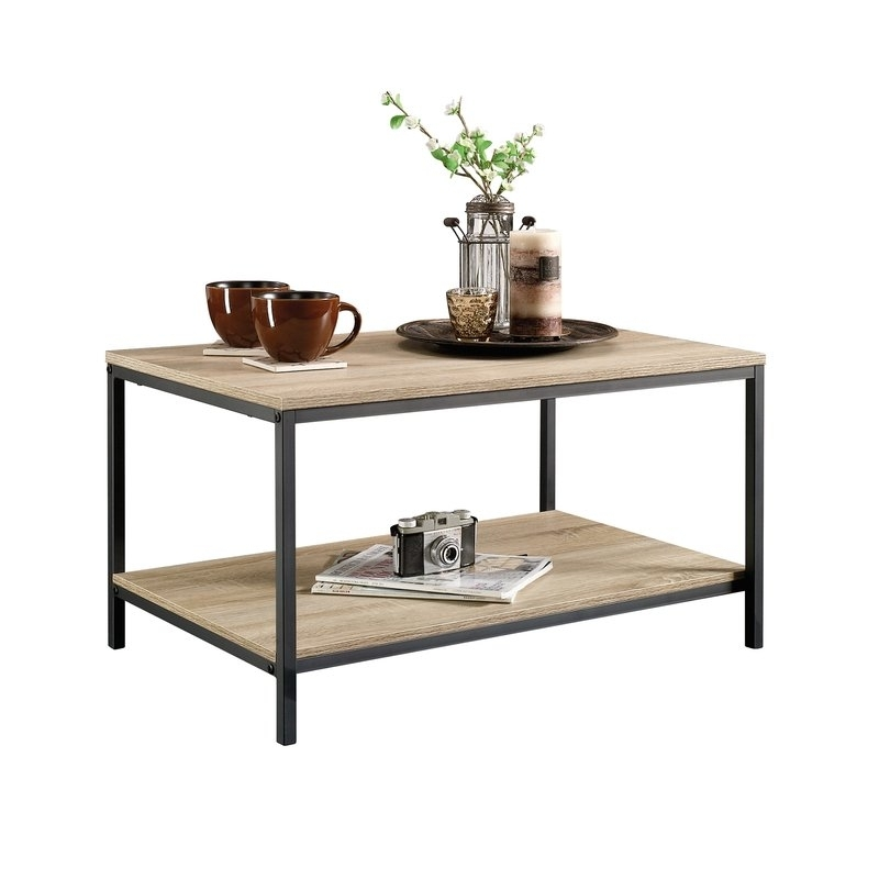 Laurel Foundry Modern Farmhouse Ermont Coffee Table & Reviews | Wayfair Throughout Large Scale Chinese Farmhouse Coffee Tables (Image 26 of 40)