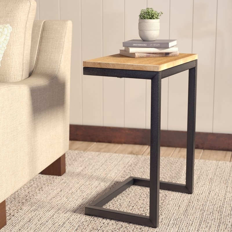 Laurel Foundry Modern Farmhouse Nayara Antique End Table & Reviews For Large Scale Chinese Farmhouse Coffee Tables (Image 28 of 40)