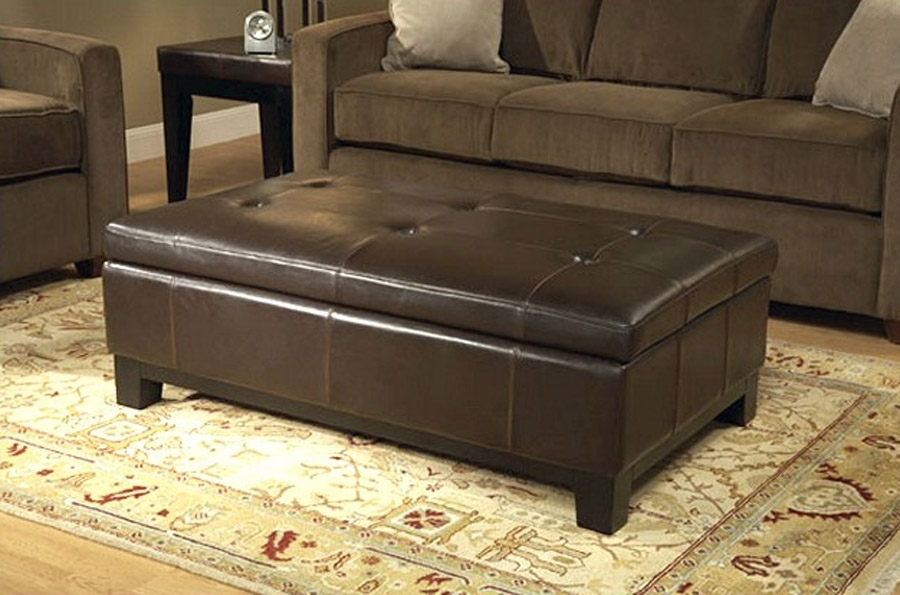 Leather Coffee Table | Shakesisshakes With Mill Large Leather Coffee Tables (View 5 of 40)