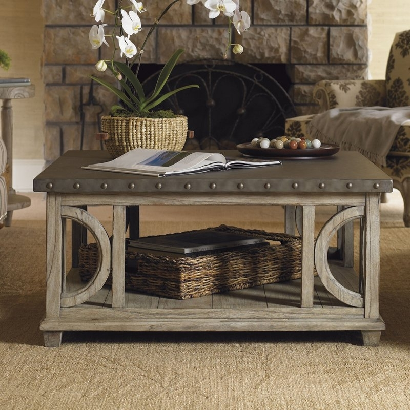 Lexington Twilight Bay Wyatt Coffee Table & Reviews | Wayfair In Wyatt Cocktail Tables (Image 17 of 40)