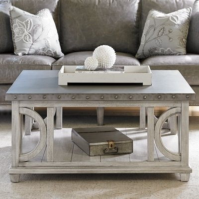 Lexington Twilight Bay Wyatt Coffee Table & Reviews | Wayfair Within Wyatt Cocktail Tables (Image 18 of 40)