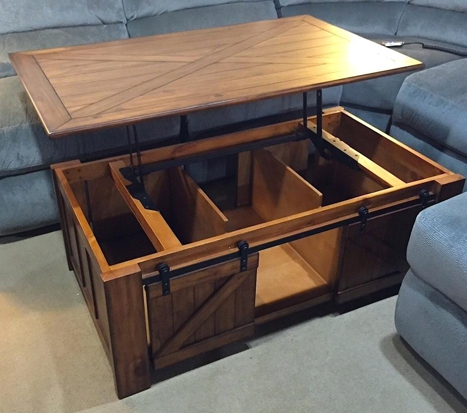 Lift Top Coffee Tables – Purchext With Ontario Cocktail Tables With Casters (Image 24 of 40)
