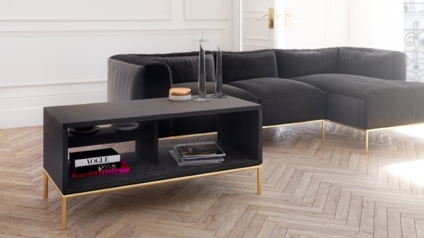 Likeable Black Coffee Tables In And Console Contemporary Furniture Within Darbuka Black Coffee Tables (View 17 of 40)
