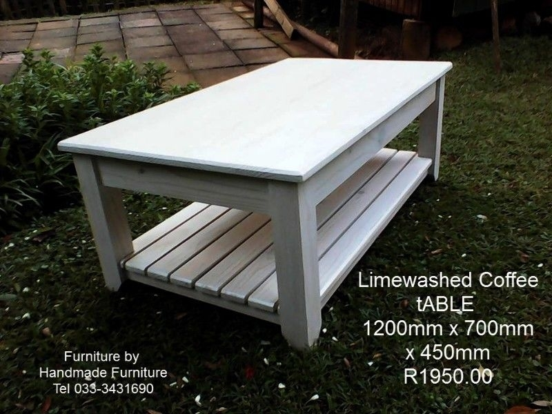 Limewashed Coffee Table | Pietermaritzburg | Gumtree Classifieds Pertaining To Limewash Coffee Tables (View 31 of 40)
