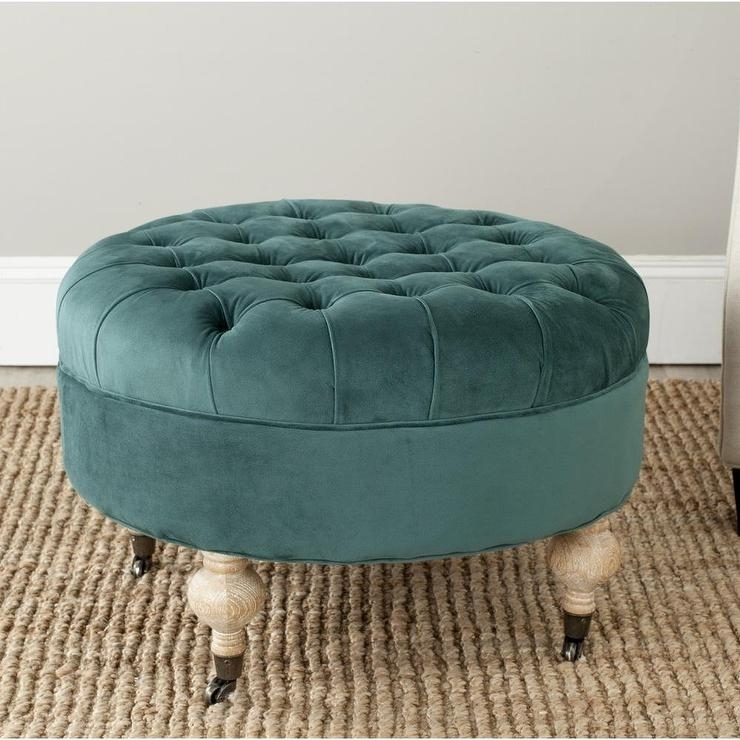 Living Room : Amazing Coffe Table Storage Design Ideas With Round For Round Button Tufted Coffee Tables (Image 21 of 40)