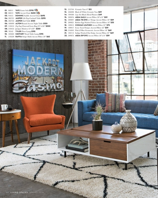 Living Spaces – Spring 2018 – Jasper Lift Top Cocktail Table With Jasper Lift Top Cocktail Tables (Image 22 of 40)