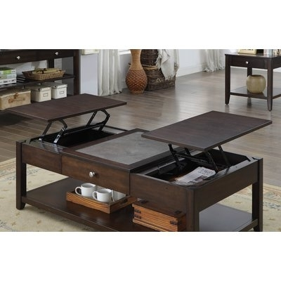 Loon Peak Leadville North Coffee Table With Lift Top & Reviews | Wayfair In Grant Lift Top Cocktail Tables With Casters (Image 24 of 40)