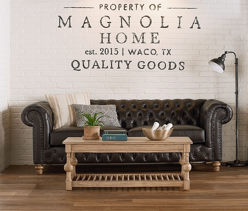 Featured Image of Magnolia Home Louver Cocktail Tables