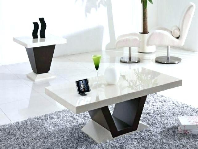 Lovely Marble Coffee Tables With Best Ideas On Top White Table Round In Intertwine Triangle Marble Coffee Tables (View 33 of 40)