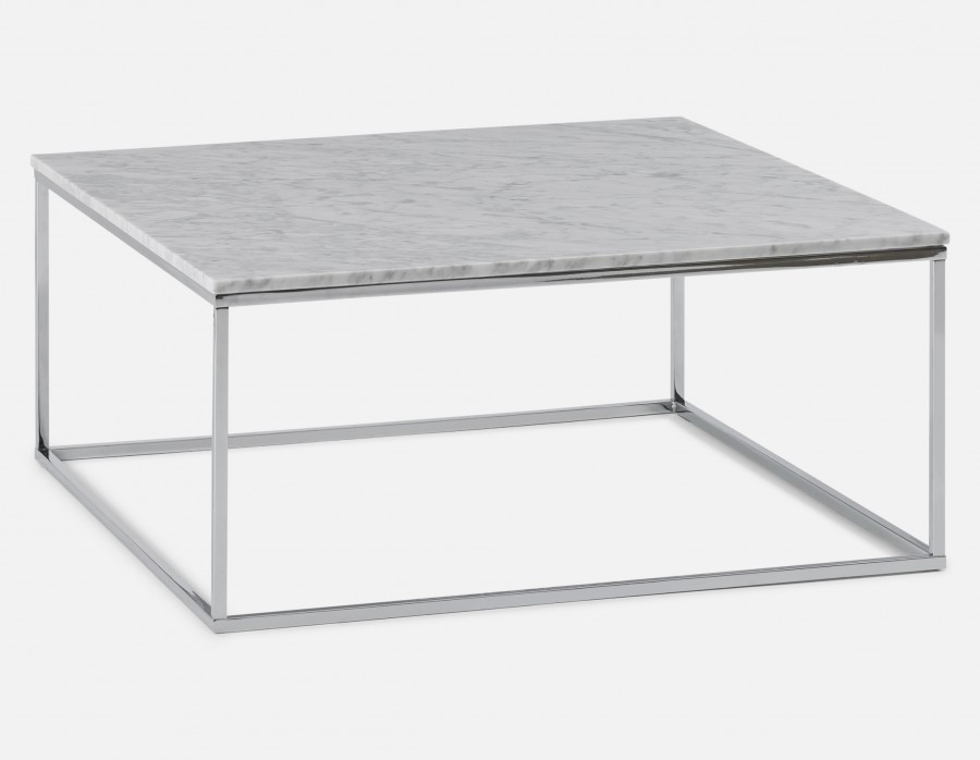 Lovely White Marble Coffee Table On Leonardo Structube | Provence Within Smart Round Marble Brass Coffee Tables (Image 17 of 40)