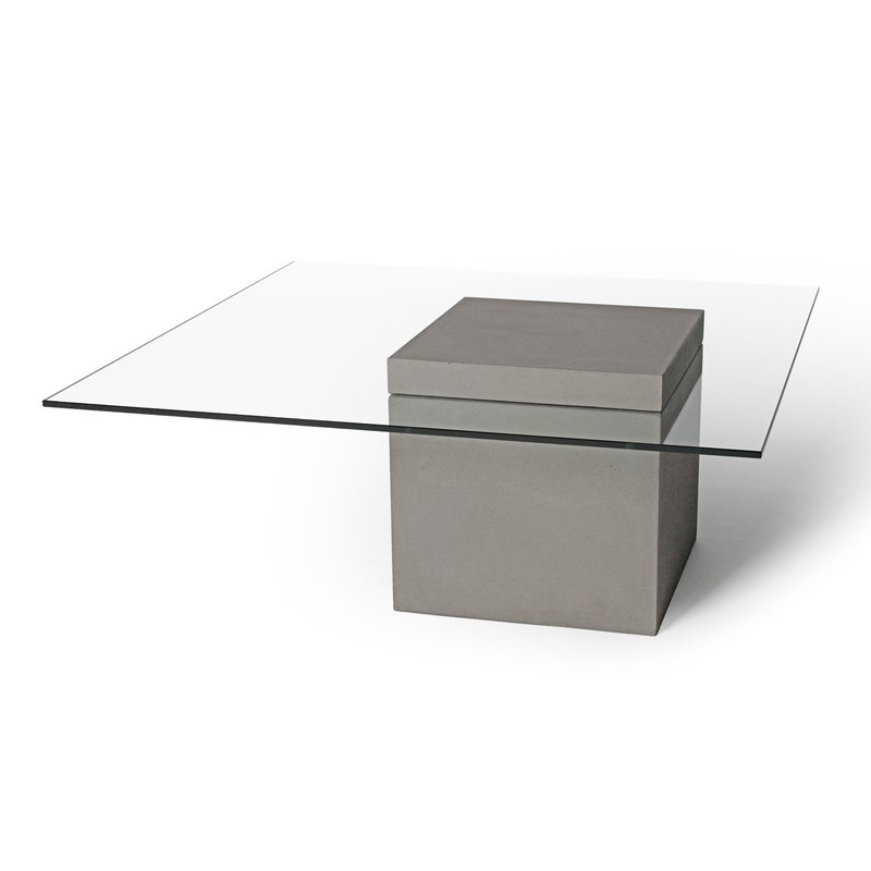 Lyon Beton Verveine Coffee Table | Wayfair For Candice Ii Lift Top Cocktail Tables (Image 27 of 40)