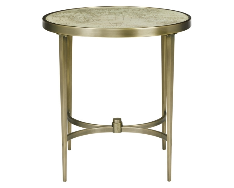 Made To Order Furniture – Drake Antique Brass Side Table | Laura Ashley For Antique Brass Coffee Tables (Photo 3 of 40)