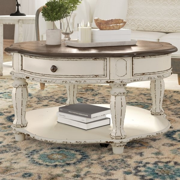 Magnolia Farms Coffee Table | Wayfair With Magnolia Home Louver Cocktail Tables (Image 16 of 39)