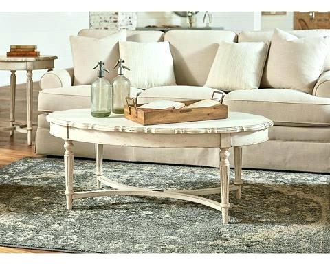 Magnolia Home Coffee Table Iron Trestle Primitive Bobbin – Design Within Magnolia Home Iron Trestle Cocktail Tables (Image 13 of 40)