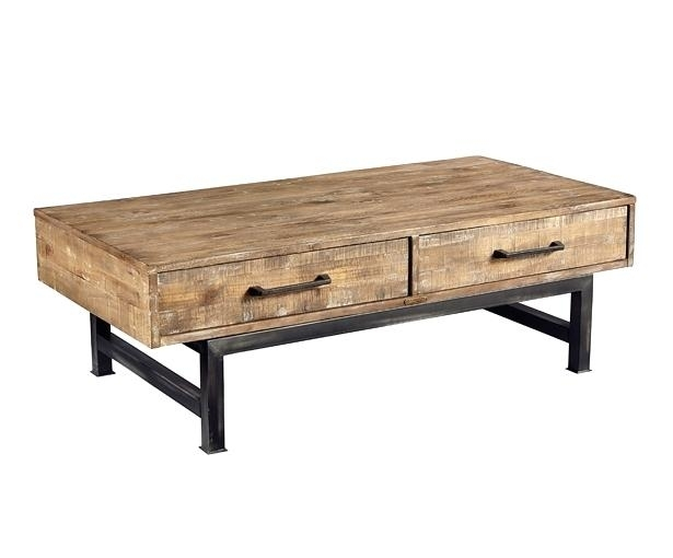 Magnolia Home Coffee Table Magnolia Home Magnolia Home Scalloped Pertaining To Magnolia Home Iron Trestle Cocktail Tables (Image 15 of 40)