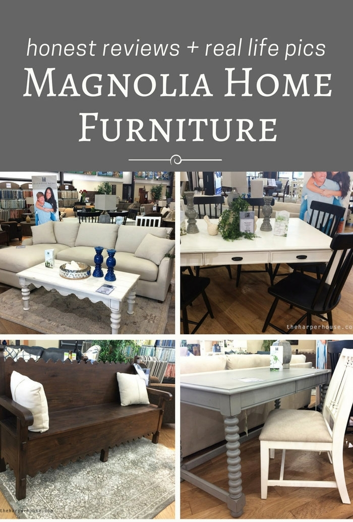 Magnolia Home Furniture – Real Life Opinions | The Harper House Regarding Magnolia Home Ellipse Cocktail Tables By Joanna Gaines (Image 19 of 40)
