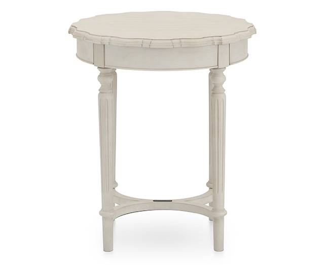 Magnolia Home Pie Crust Coffee Table – Furniture Row With Magnolia Home Scallop Antique White Cocktail Tables (Image 27 of 40)