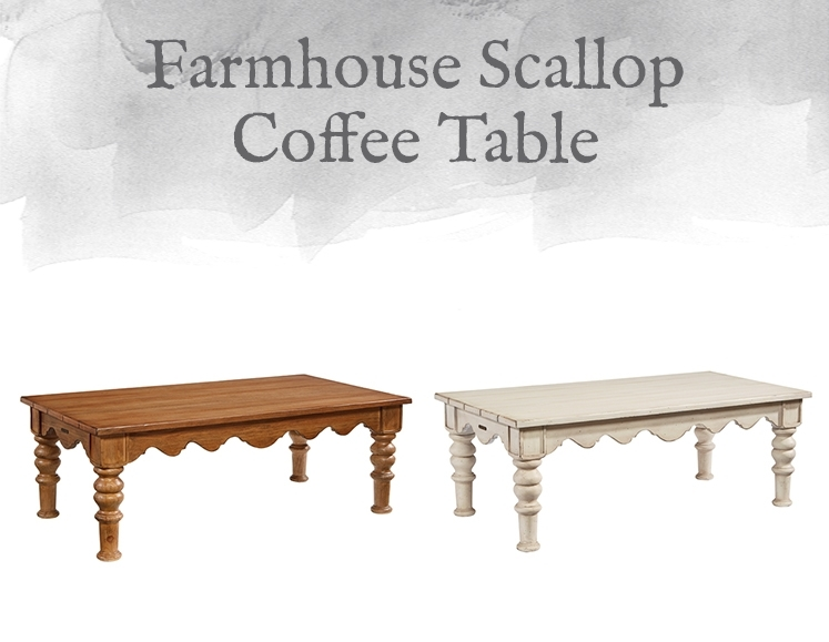 Magnolia Home Preview: Farmhouse Collection | Designgahs Pertaining To Magnolia Home Scallop Antique White Cocktail Tables (Photo 2 of 40)