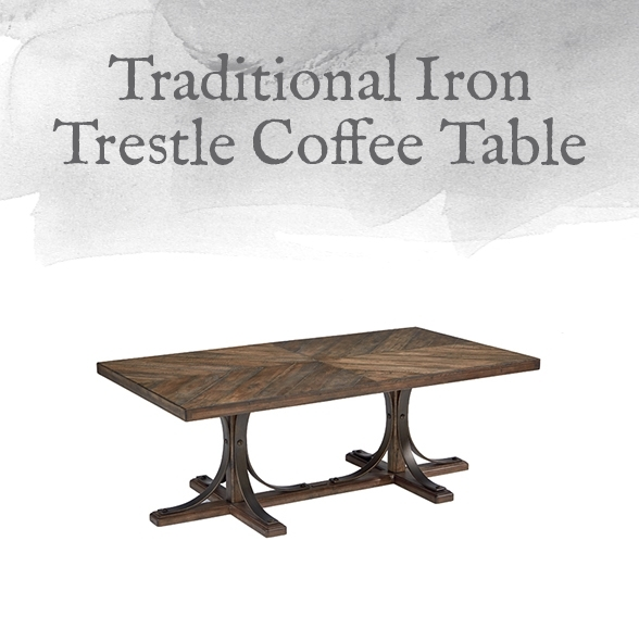 Magnolia Home Preview: Traditional Collection | Designgahs Regarding Magnolia Home Iron Trestle Cocktail Tables (Photo 2 of 40)