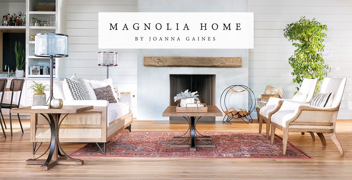 Magnolia Homejoanna Gaines At Living Spaces Within Magnolia Home Scallop Antique White Cocktail Tables (Image 33 of 40)