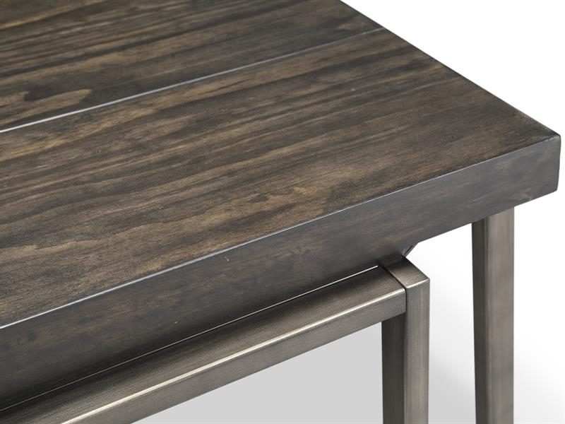 Magnussen Home Furnishings Inc. | Home Furniture | Bedroom Furniture For Pine Metal Tube Coffee Tables (Photo 37 of 40)