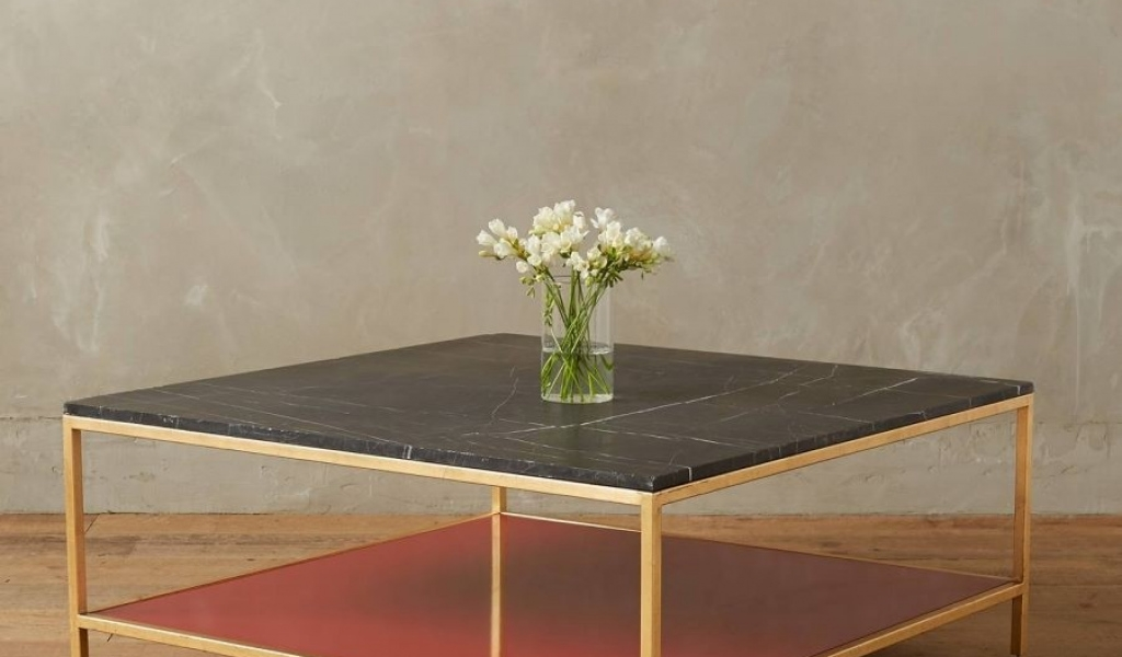 Marble And Metal Coffee Table Fresh Anthropologie Marble Side Table Inside Fresh Cut Side Tables (Photo 6 of 40)