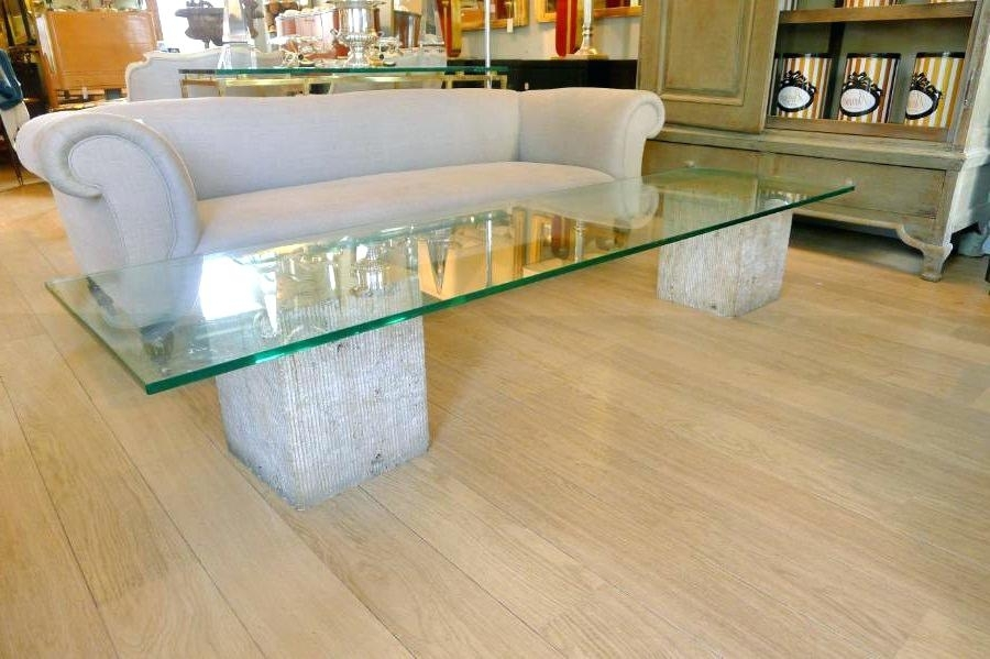 Marble Base Glass Top Coffee Table Coffee Table Bases For Glass Tops In Suspend Ii Marble And Wood Coffee Tables (Image 15 of 40)