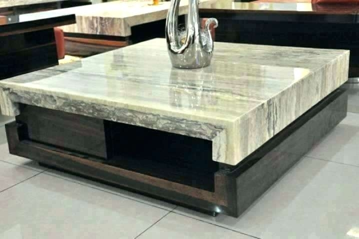 Marble Slab Coffee Table Marble Coffee Table Diy Marble Slab Coffee Regarding Large Slab Marble Coffee Tables With Antiqued Silver Base (Image 21 of 40)