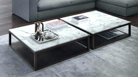 Marble Top Coffee Table Coffee Table Marble Top Coffee Table Throughout Smart Large Round Marble Top Coffee Tables (View 7 of 40)