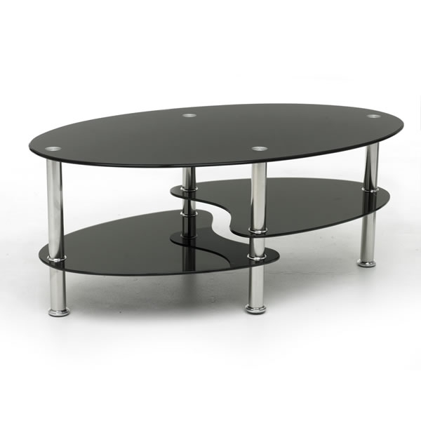 Marvellous Black Coffee Table Within Darbuka Black Coffee Tables (View 14 of 40)